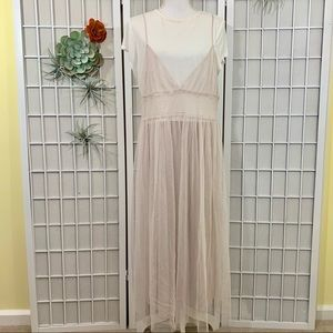 NWT LC Lauren Conrad Tulle T-Shirt Dress